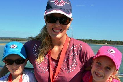 Gillian and kids - team tone