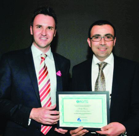 Dr Khasraw and Luke Garrick