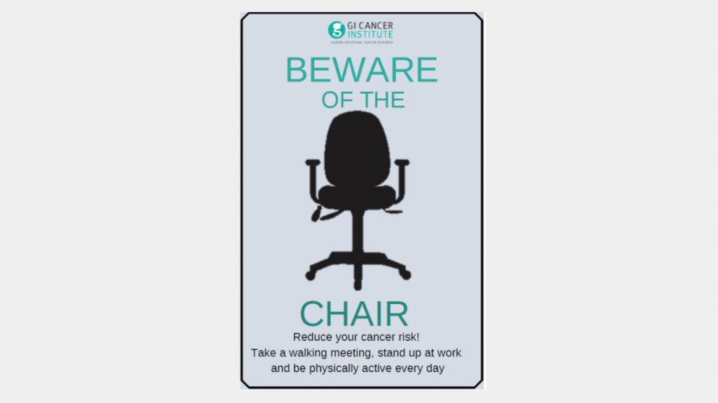 Workplace Fundraising - Beware of the chair