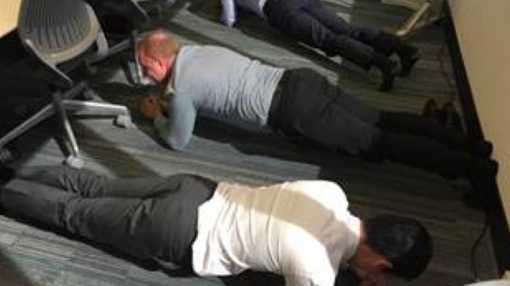 Workplace Fundraising - Plank
