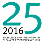 Celebrating 25 years of GI cancer research