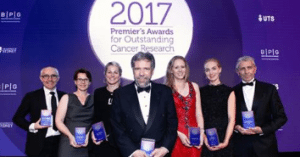 Prof  Goldstein Recognised at NSW Premiers Cancer Research Awards