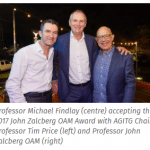 The 2018 John Zalcberg OAM Award for Excellence in AGITG Research