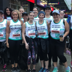 Nurses lace up their running shoes for pancreatic cancer research