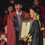 CAP member Brian Wall awarded Honorary Doctorate of Science