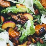 Holiday Recipes: Peach and Pumpkin Salad & Ginger Lime Yoghurt Fruit Cups