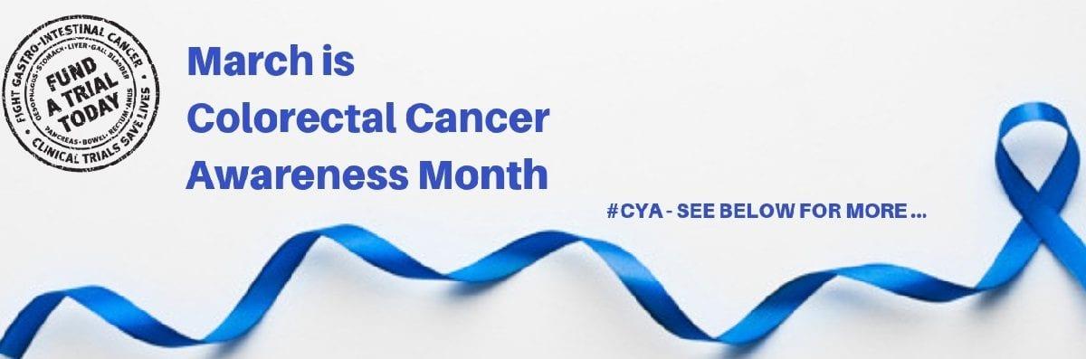 Colorectal Cancer Awareness Month Gi Cancer