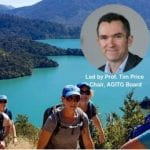 Professor Tim Price to lead the 2019 Gutsy Southern Alps Challenge in New Zealand