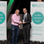 Professor Niall Tebbutt, Inaugural AGITG Fundraiser of the Year