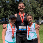 Beating the world's toughest half marathon for cancer research